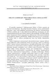ACTA UNIVERSITATIS LODZIENSIS