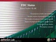 FDC Status