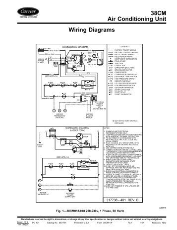 carrier contactor wiring diagram 30gt k,hl /ckage - carrier carrier unit wiring
