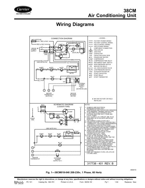 Carrier Unit Wiring - Get Wiring Diagram on