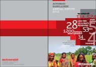 ANNUAL REPORT 2012 - ActionAid