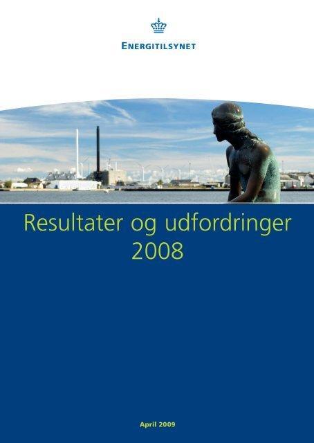 Resultater og udfordringer 2008.pdf - Energitilsynet