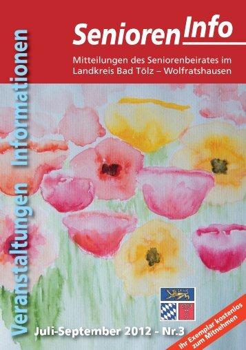 Senioren-Info 3/2012 - Arbeitskreis für Menschen mit Behinderung
