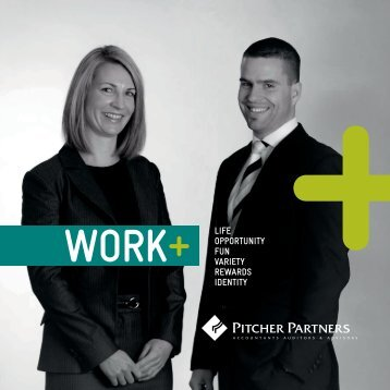 WORK+ lIFE - Pitcher Partners
