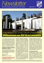Newsletter 2010 - Skal International Switzerland