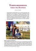 TEMPELRIDDERNES VIDEN FRA EGYPTEN - Ove ... - Visdomsnettet - Page 3
