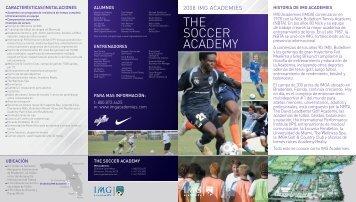 THE SOCCER ACADEMY - IMG Academy