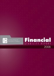 Financial Stability Report 2008 - Central Bank of Trinidad and Tobago