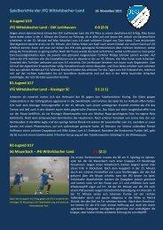 Samstag, 19.11.2011 - jfgwittelsbacherland.de