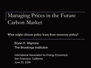 P - United States Association of Energy Economics