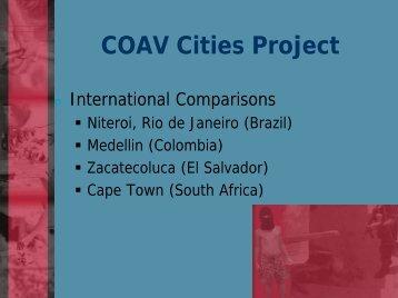 The Coav Cities Project - Comunidade Segura