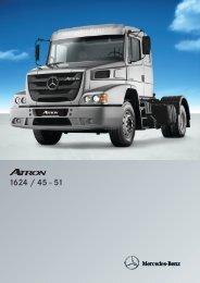 Atron 1624 Camión Nacional - Mercedes Benz