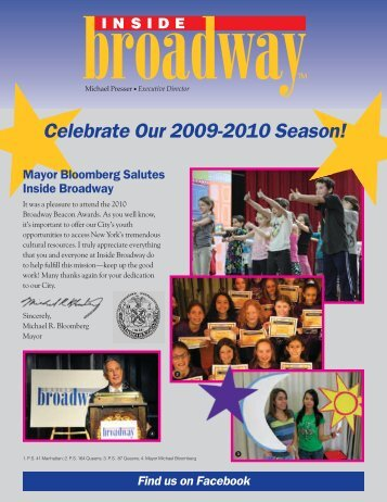 Celebrate Our 2009-2010 Season! - Inside Broadway
