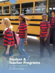 Student & Teacher Programs - Illinois Holocaust Museum ...