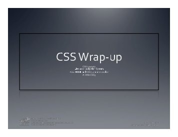 07A-Wrapping up basic CSS