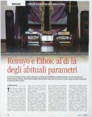 Reimyo e Ethos: al di la' degli abituali parametri - estroarmonico.com
