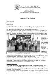 Rundbrief Juli 2004 - Himmelschlüsselhof