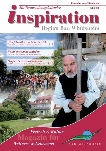 Magazin für - Magazin Inspiration - Bad Windsheim