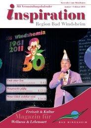 Jan-Feb 2011:Layout 1 - Magazin Inspiration - Bad  Windsheim
