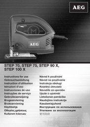 STEP 70, STEP 75, STEP 90 X, STEP 100 X - Download Instructions ...