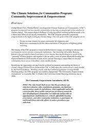 The Community Empowerment Amendment - Global Green USA