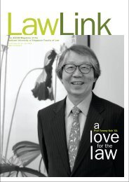 Vol 3 No. 2 July - December 2004 - Faculty of Law - National ...