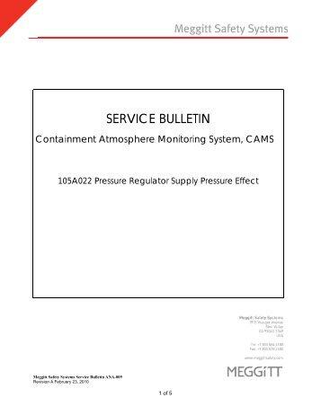 SERVICE BULLETIN - AREVA NP Inc.