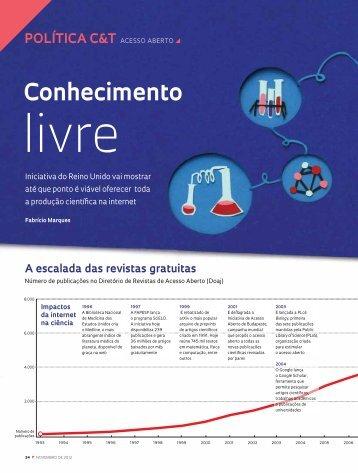 Conhecimento - Revista Pesquisa FAPESP