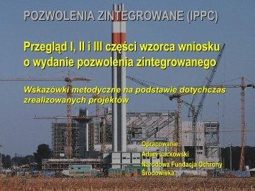 POZWOLENIA ZINTEGROWANE \(IPPC\) - IPPC - Ministerstwo ...
