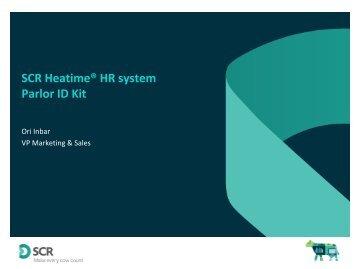 SCR Heatime® HR system Parlor ID Kit - ICAR