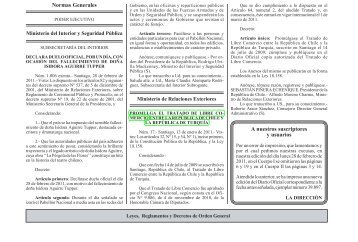 Se publica en el Diario Oficial el TLC Chile-Turquía - Pollmann