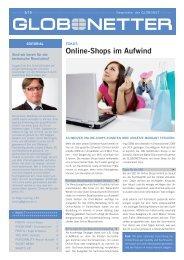 Online-Shops im Aufwind