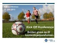 Kick Off Konference - Aalborg Kommune