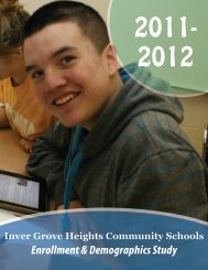 Enrollment and Demographics - Inver Grove Heights Community ...