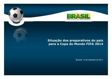 II Balanço da Copa - Setembro de 2011