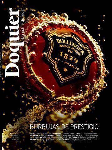 BURBUJAs DE PREstIgIo - revista doquier