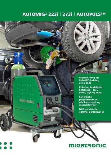 Automig² 223i | 273i | Autopuls™ - Svejsehuset A/S
