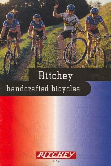 1995 Ritchey Bicycles Catalog - Bikeman