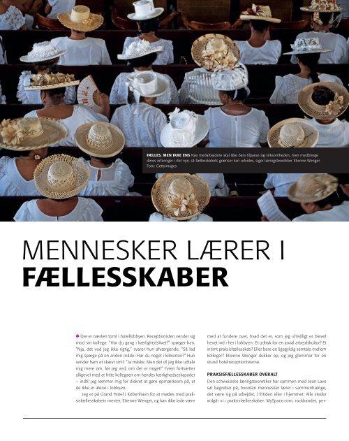 MENNESKER LÆRER I FÆllESSKAbER - PURE