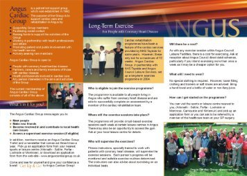Is a pat|ent led support group - Angus Council