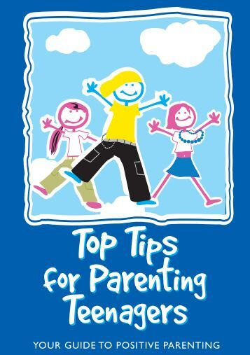 Top Tips for Parenting Teenagers