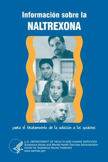 la naltrexona - SAMHSA Store - Substance Abuse and Mental ...