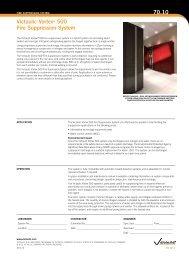 Victaulic Vortex® 500 Fire Suppression System 70.10