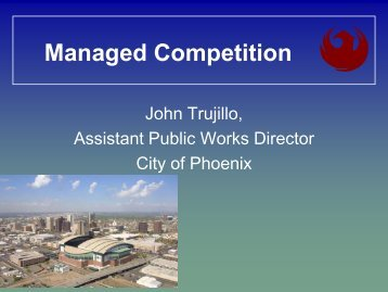 John Trujillo, City of Phoenix, AZ - U.S. Conference of Mayors