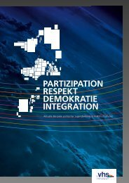 partizipation respekt demokratie integration - Politische Jugendbildung