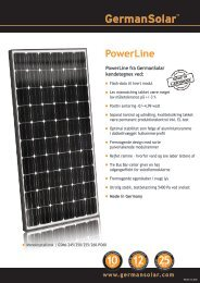 PowerLine - German Solar