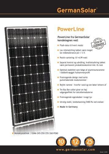 PowerLine - German Solar
