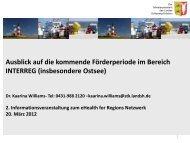 interreg b - eHealth for Regions