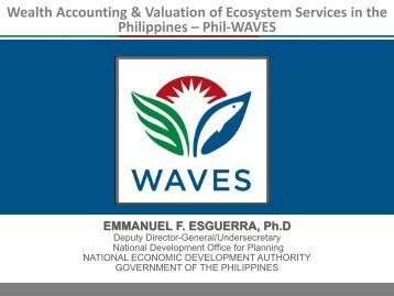 Philippines - Wealth Accounting and the Valuation of Ecosystem ...