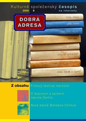 DA 08/2009 - Dobrá adresa